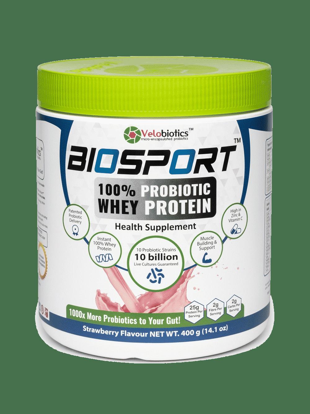 BioSport - 100% Probiotic Whey Protein