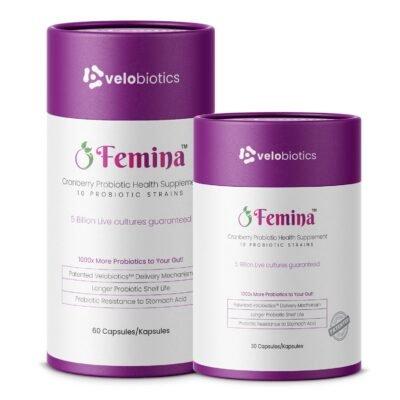 Femina Probiotic Capsules with Cranberry Extract