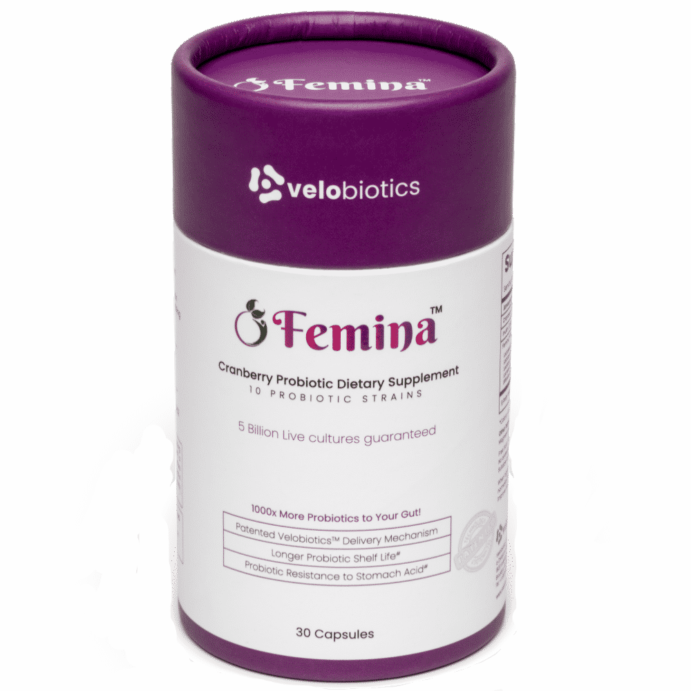 Femina Probiotic Capsules with Cranberry Extract for Women