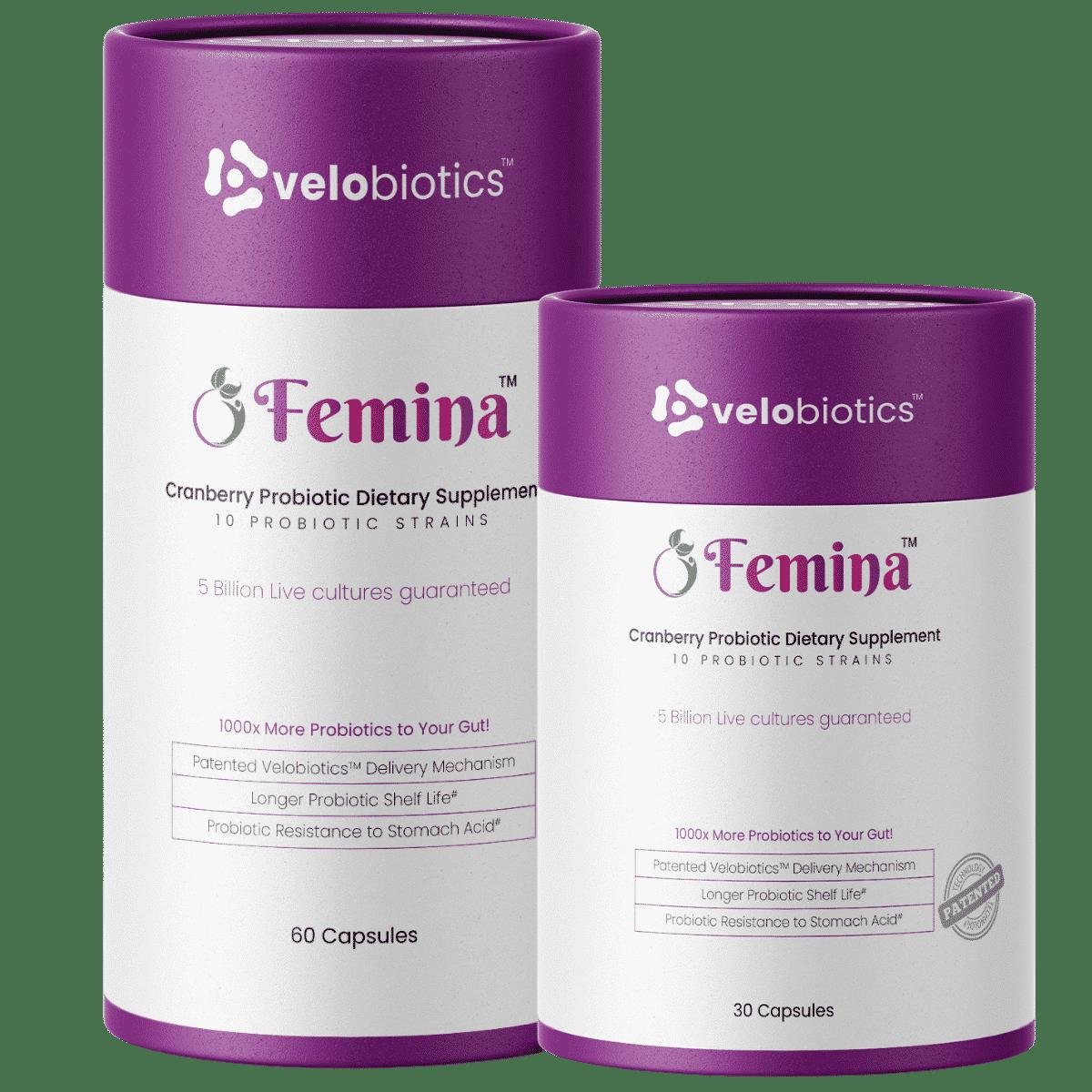 Femina Probiotics Capsules for Womens Health