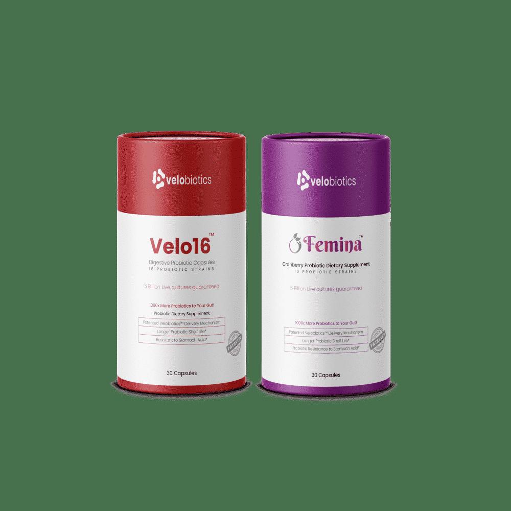 Velobiotics Gut Bundle for Couples