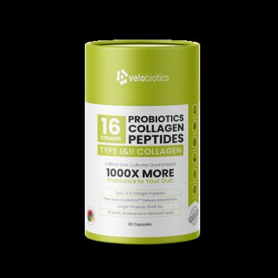 Probiotics Collagen Peptides Capsules